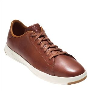 Cole Haan Grandpro Cognac Leather Sneakers